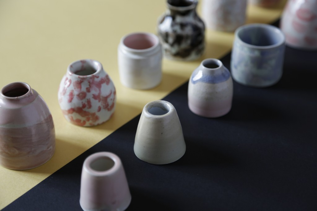 Small vases - by Yoko Homareda, Nantes, winter 2015
