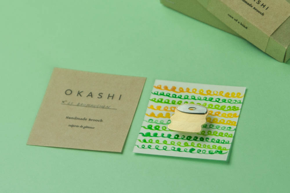 Okashi Vol.2 - by Yoko Homareda, Nantes, winter 2016